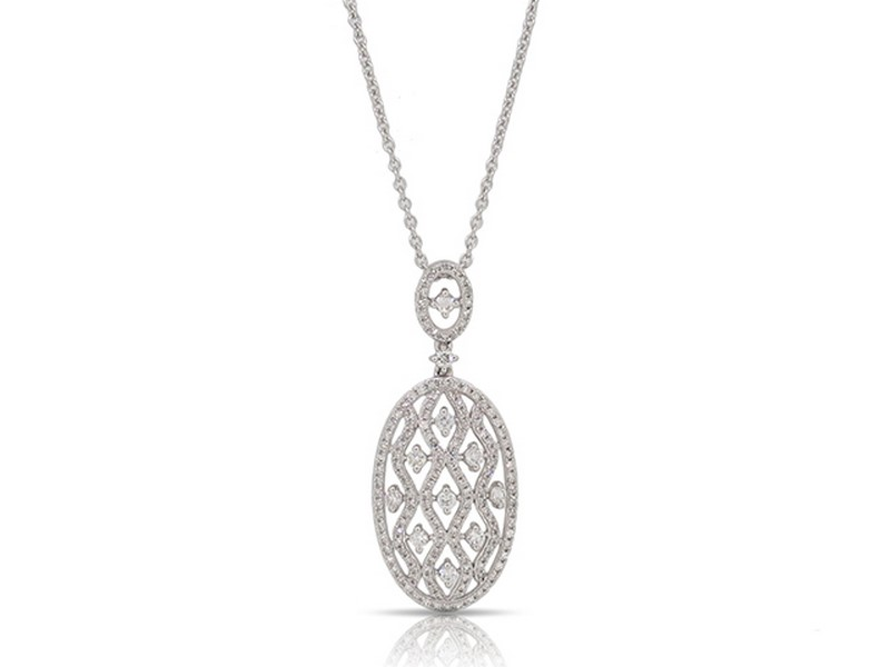 Diamond Pendant by Luvente